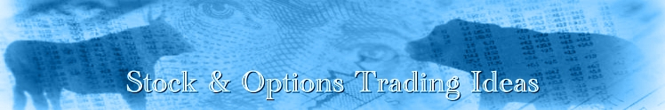 Stock and Option Trading Ideas